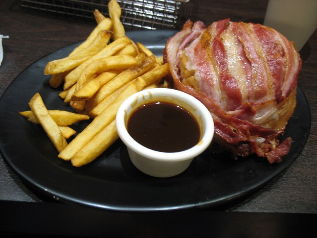 Baconburger from Zarks